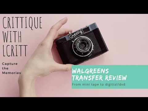 CRITTique: Walgreens Video Transfer Review