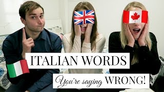 20 ITALIAN WORDS YOU