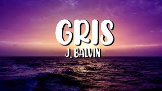 J. Balvin - Gris (Letra/Lyrics)