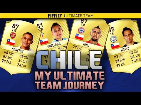 FIFA 17 LIVE - My FUT Journey - #52 - CHILE SQUAD