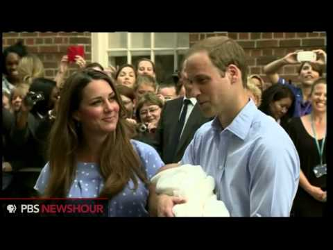 William and Kate Introduce the Royal Baby to the Public