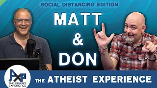 Atheist Experience 24.22 with Matt Dillahunty & Don Baker