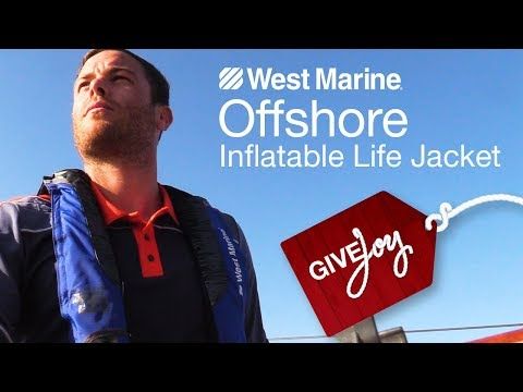 West Marine Offshore Automatic Inflatable Life Jacket with Harness - West Marine Quick Look
