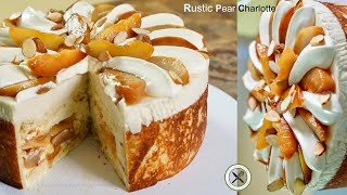 Pear Charlotte – Bruno Albouze – THE REAL DEAL