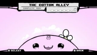 Super Meat Boy - The Cotton Alley Light World