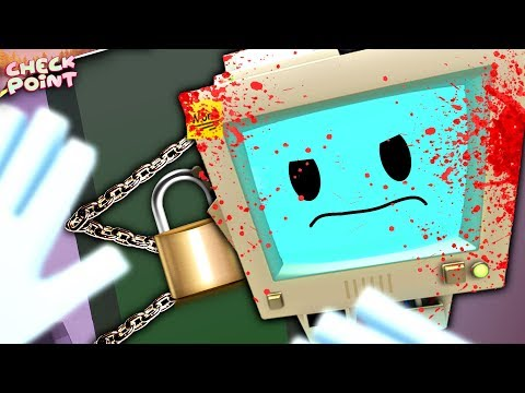 TEMP BOT LOCKED US IN HIS SECRET MURDER ROOM | CHECKPOINT - Episode 1 (Job Simulator VR Gameplay)