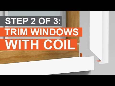 How To Trim A Window Build Out Amp Cap With Coil Part 2 Of