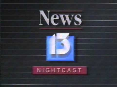 Winter 1987 - WLOS Late Newscast Open