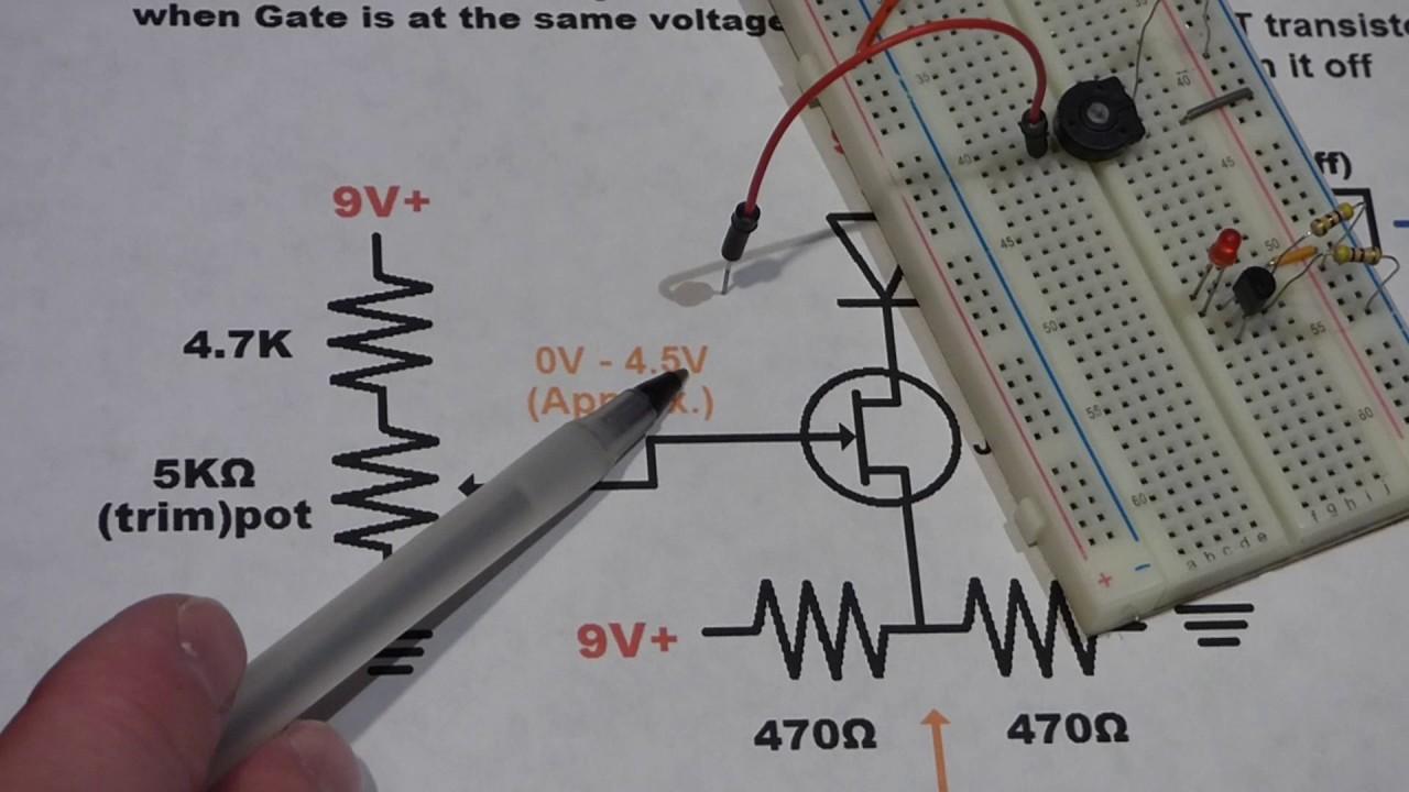 Circuit Diagram Of Jfet