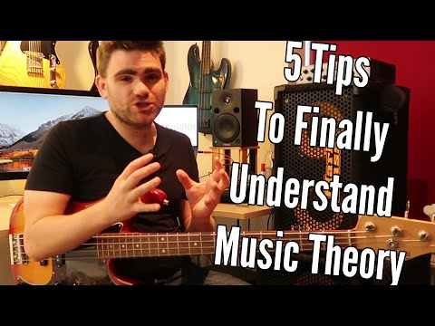 5 Tips To Finally Understand Music Theory
