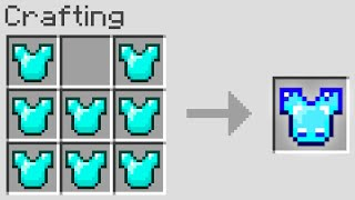 Minecraft UHC But You Can Craft Chestplates From Any Item..