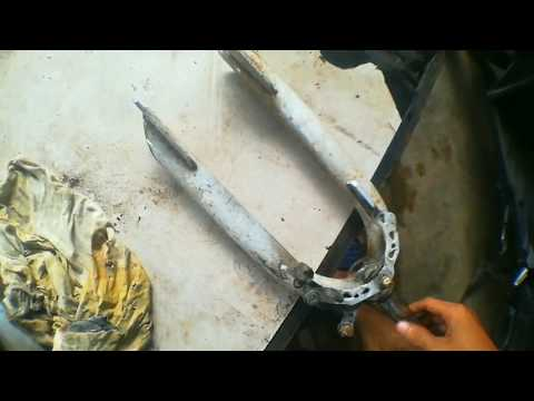 Bmx Bike Fork Restoration + Philippines + Usapang restoration + Filipino bike Restoration + rajin 99