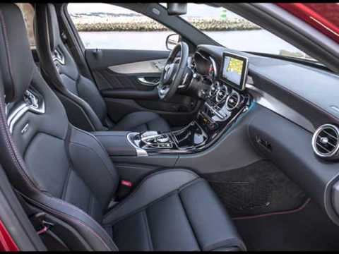 All New 2015 Mercedes-Benz C450 AMG 4MATIC Interior Design (367 hp)