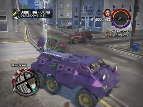 Saints Row 2 Activities Guide: Drug Trafficking (Airport)