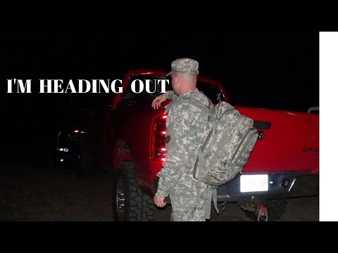 Being in the US ARMY reserves / leaving for annual training