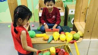 Stin Dâu - Trò chơi đi Siêu Thị mua Trái Cây giúp Mẹ -  Playtime SC Vivo City