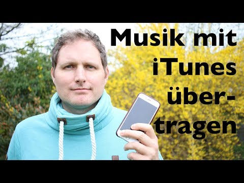 Musik mit iTunes auf iPhone laden