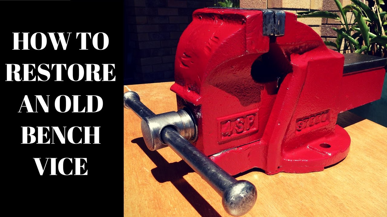 How To Restore A Workshop Vise  YouTube