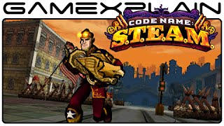 Code Name: STEAM - Amazing Alternate Title Screen Song!