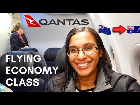 Christchurch To Brisbane In Economy Class | QF134