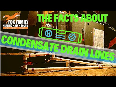 The Facts About AC Condensate Drain Lines
