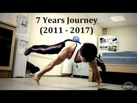 7 Years Street Workout TRANSFORMATION - Anton Abasov (2011 - 2017) [Антон Абасов]