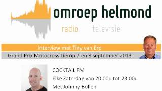 Baixar interview met Tiny van Erp over de Grand Prix Motocross Lierop 2013