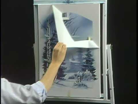 Bob Ross The Joy of Painting   A Window on Winter