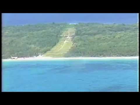 Marshall Islands: Landing on Mili Atoll's grass runway