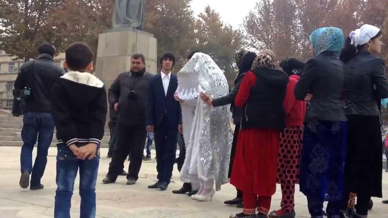Tajik Marriage Ceremony in Dushanbe - YouTube