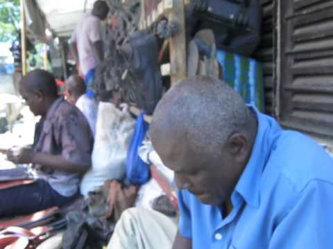 Local Shoes Makers of Tanzania