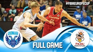 Donar Groningen v Filou Oostende - Full Game - Rd. of 16 - FIBA Europe Cup 2018-19
