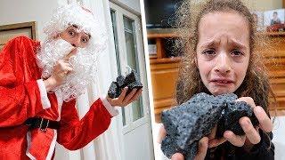 Me hago pasar por Santa Claus y regalo carbón a mi hermana... *llora*