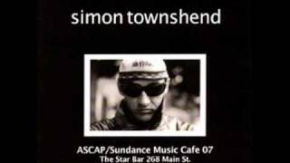 Watch Simon Townshend Pie In The Sky video