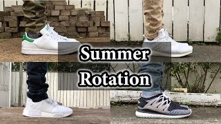 f5b472f025b Summer Sneaker Rotation | Adidas Nmd, Ultra Boost, Filling Pieces & More!