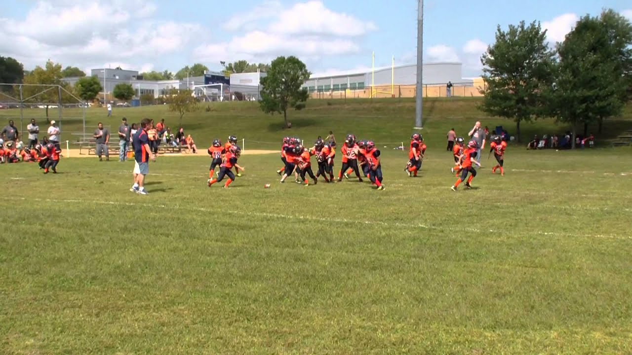 bulldog vs bears 7u aberdeen bulldogs vs conowingo bears 9 20 2014 youtube 4967