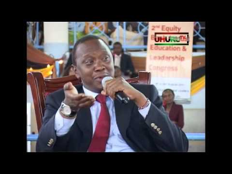 Uhuru Kenyatta Exclusive Interview - Part 1