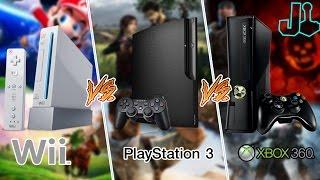 Ainda vale a pena comprar WII, PS3 ou XBOX 360? (consoles da 7° Geração)