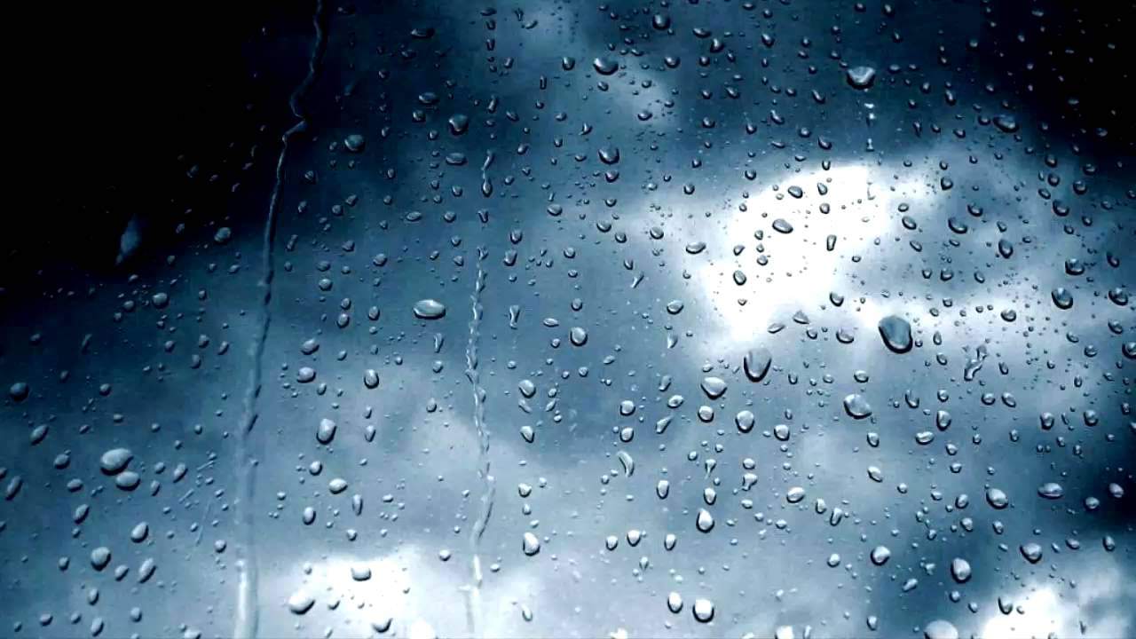 Rain Fall Live Wallpaper Rain And Thunder Sounds 10 Hours Youtube