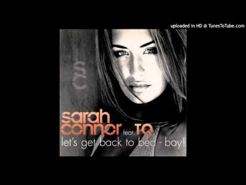 Sarah Connor feat TQ  Lets Get Back To Bed  Boy! Blacksmith R&B 12 inch Rub 2001