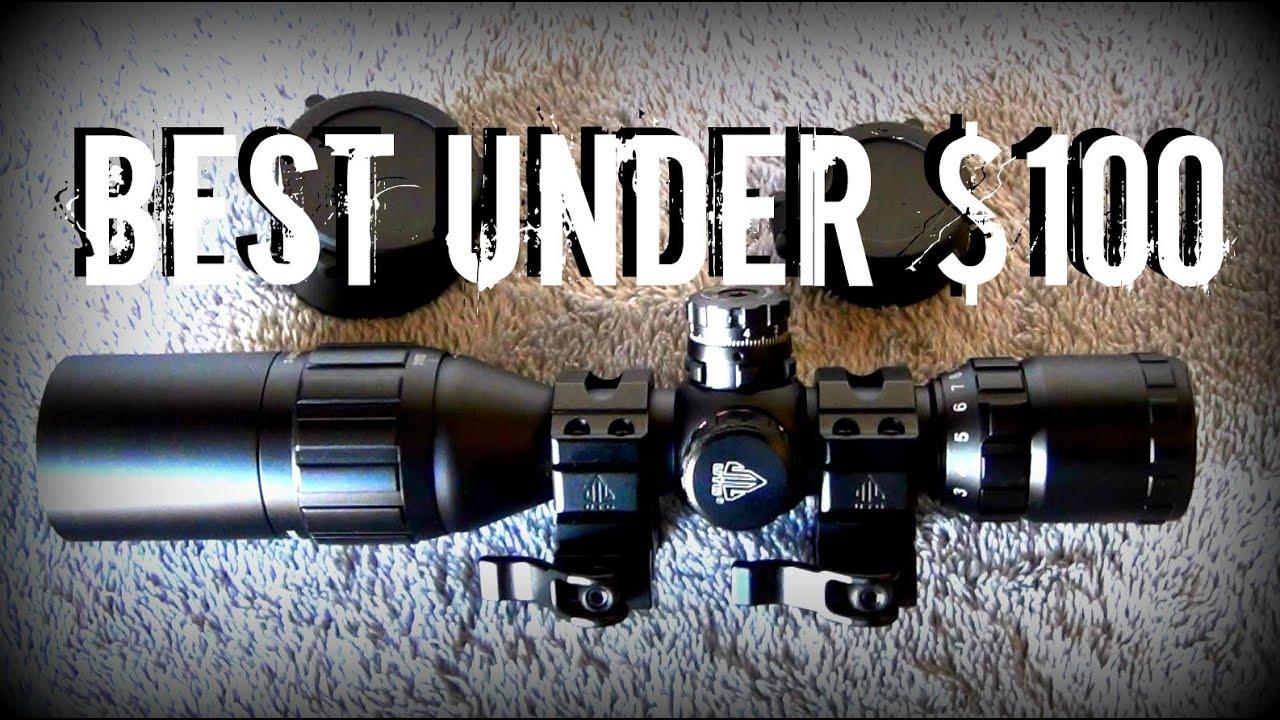 UTG 3x9x32 Bug Buster CQB Compact Mil Dot RGB Scope Review from Leapers