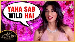 Chitrangada Singh NAUGHTY Conversation With Reporter | Lux Gol…