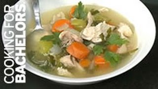 Chicken Soup By Cooking For Bachelors® Tv