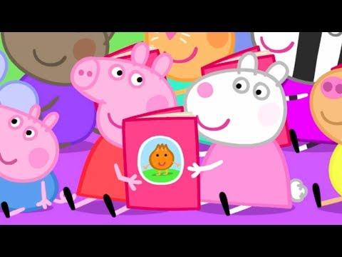 Peppa Pig Français 📖 Journée Mondiale du Livre   HD   Dessin Animé