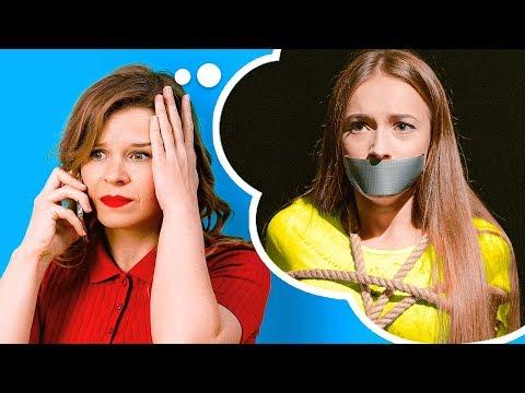 MAMÁ VS. YO, MOMENTOS QUE TODOS HEMOS VIVIDO || Situaciones cómicas por 123 GO! Spanish