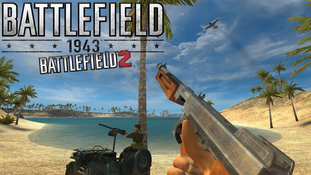 Battlefield 2 1943 Mod Wake Island | 4K