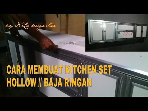 Cara pemasangan atap baja ringan galvalum spandek 4 for Cara bikin kitchen set