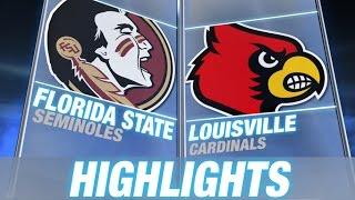 Florida State vs Louisville | 2014 ACC Football Highlights