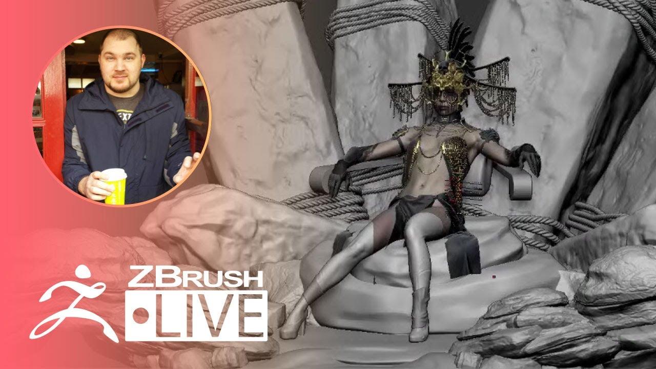 Character Art for Video Games - Brendon Isaiah Bengtson - ZBrush 2021