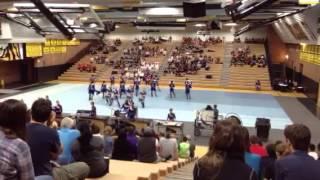 Basha High School Indoor Percussion Ensemble 3/8/14